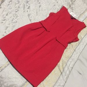 NEW Armani Exchange Fitted Red Dress
